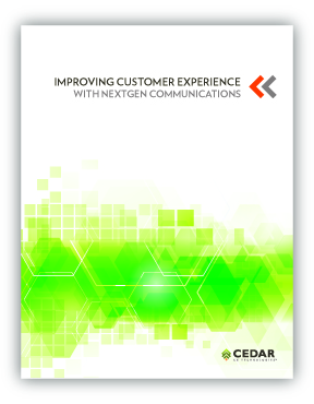 White Paper: Improving CX With NextGen Communications